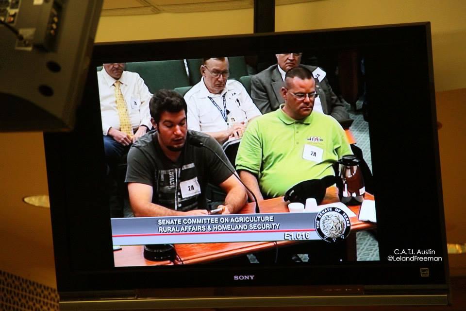committee hearing testify